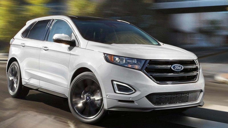 Dodge Journey Vs  Ford Edge