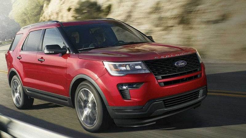 Chevy Traverse Vs Ford Explorer >> 2018 Ford Explorer | Ford Explorer in Conyers, GA | Courtesy Ford Conyers